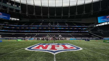 General view of the Tottenham Stadium during the NFL Flag Championships (Pic: Chris Radburn/PA)