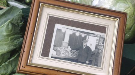 Many traders' families have been in the market business for generations like Robert Evans and his fa