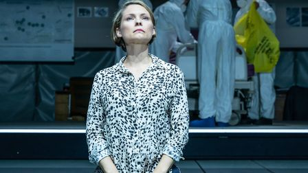 Tom Brooke as Alexander Litvinenko and MyAnna Buring as Marina in A Very Expensive Poison