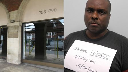 Right, James Ibori, the former governor of Nigeria's Delta state, whose offshore entity Haleway Prop