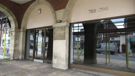 The derelict offices at Arcade House have stood empty for a long time. Picture: Archant