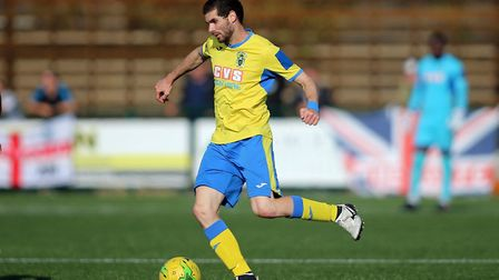 Georgios Aresti of Haringey Borough. Picture: George Phillipou/TGS Photo