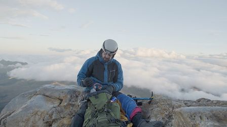 Thomas Palmer is halfway through an extreme challenge to climb Colombia's 10 highest mountains.