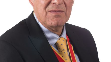 Michael Ladd, the new chairman of Suffolk County Council. Picture: Suffolk County Council