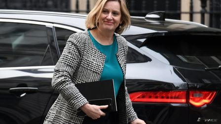 Former work and pensions secretary Amber Rudd, who was briefly a director of Monticello PLC. Picture
