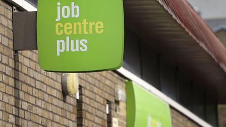 A file image of a job centre in east London. Picture: Philip Toscano/PA Archive