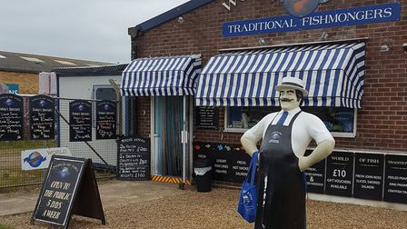 World of Fish, based in Lowestoft, was highly commended at the Fishing News Awards. Picture: Bryan S