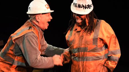 The Vaults Theatre sThe Permanent Way by David Hare picture @nobbyclark.co.uk