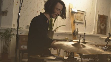 Bradford-Sharp has released nine albums, and teaches at the local Bang Drum School. Picture: Jake Br