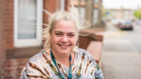 Catherine Phillips, carers lead for the Waveney Community Mental Health Team. Picture: NSFT