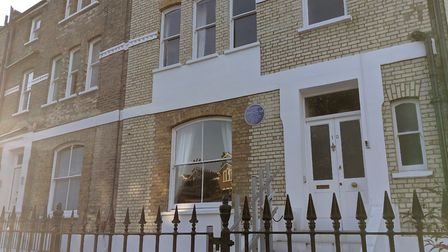 The Primrose Hill property where Indian politician B.R Ambedkar's stayed in the 1920s is subject to