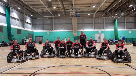 Saracens Wheelchair Rugby Club, in Partnership with Allianz