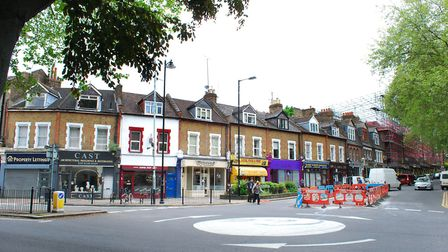 Hornsey High Street at the junction with Middle Lane. Picture: Polly Hancock