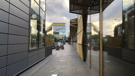 More of the units are vacant at the Hackney Walk luxury retail outlet than are occupied, three years