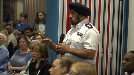 Ch Supt Raj Kohli at an event held by Coram to interrogate the causes of youth violence. Picture: Co
