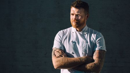 Tom Brown named his debut restaurant, Cornerstone, after his favourite Arctic Monkeys song. Picture: