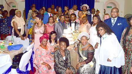 Members of the Open Doors Baptist Church. Picture: Simon Dachi