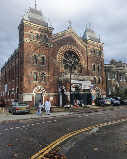 The Open Doors Baptist Church. Picture: Holly Chant