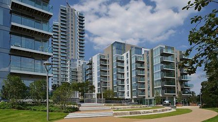 The Woodberry Down estate regeneration. Picture: Local Democracy Reporting Service