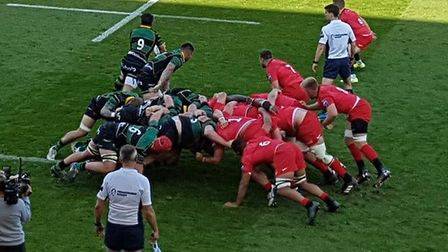 Saracens travelled to Franklin's Gardens to take on Northampton Saints in the Premiership Rugby Cup.