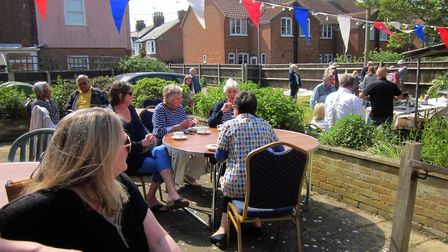 A community party was held to celebrate SouthGen's acquisition of the former Southwold Hospital. Pic