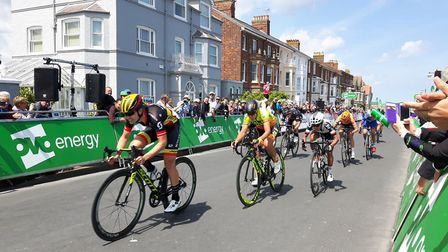 The Women's Tour finished its first stage in Southwold. Picture: Waveney District Council