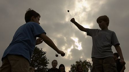 The annual Hampstead Heath conkers championship will take place on Sunday. Picture: Clive Notman/Cit