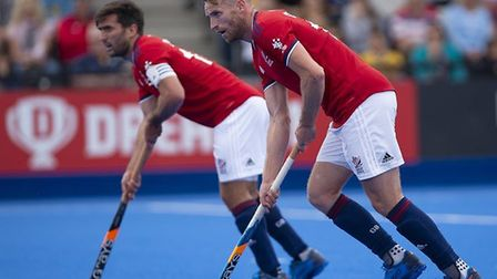 Great Britain's men lost to Spain in their second warm-up match ahead of their Olympic qualifiers (p
