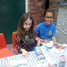 Fundraising at Gayhurst School's summer fair this year. Picture: Gayhurst School