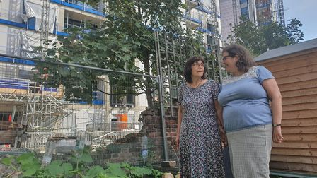 Residents at Nataniel Court Estate want to protect their community garden.