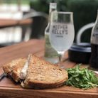 A melted tallegio cheese toasted sandwich at Mother Kelly's. Picture: Emma Bartholomew