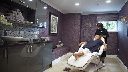 Relax in the Hairs and Graces hairdressing salon. Picture: TLC Care