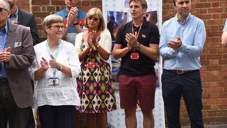 Paralympic swimmer Jessica-Jane Applegate opens the new sensory room at The Ashley School.Byline: So