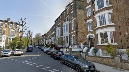 South Hill Park Road: one of the most comfortably-off neighbourhoods in England. Picture: Google Str