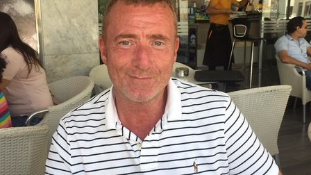 Mark Stewart, infected with hepatitis C after being given contaminated Factor VIII blood products. P