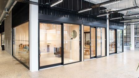 The Factory comprises 21 high-spec pods built with local creative business in mind. Picture: Supplie