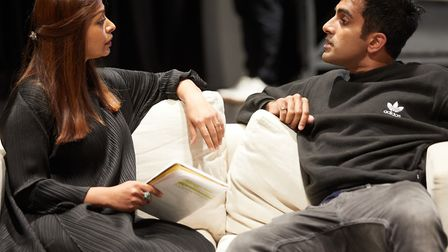 Kiln Theatre presents WHEN THE CROWS VISIT by Anupama Chandrasekhar featuring AYESHA DHARKER an