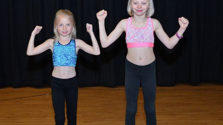 Corton's Got Talent 2018. Teyte Grant and Summer Vincent, Pictures: MICK HOWES