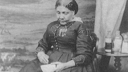 The only known photograph of Mary Seacole, who died in 1881