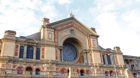 A general view of Alexandra Palace in Wood Green, North London. Picture: Yui Mok