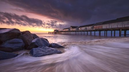 Southwold Pier in Suffolk featured in last years competition among the photos taken in East Anglia w