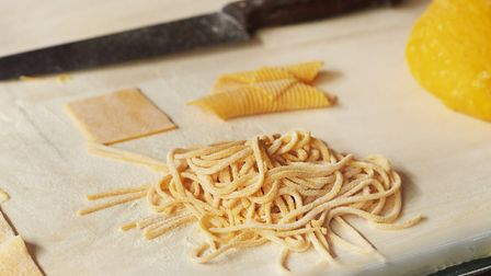 Pasta is hand-made each day at Officina 00. Picture: Joe Woodhouse.