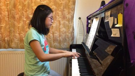 Polly Chan who is performing at the Southwold Arts Festival. Picture: Saint Felix School