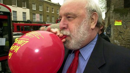 Frank Dobson General Election 2001. Picture: Nigel Sutton