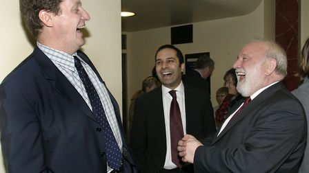 Camden Labour party Launch Election Campaign Alastair Campbell,Raj Chada & Frank Dobson MP. Picture: