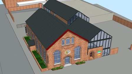 The architects concept visuals for the Players Theatre in Lowestoft. Picture: McArthur Tring Archite