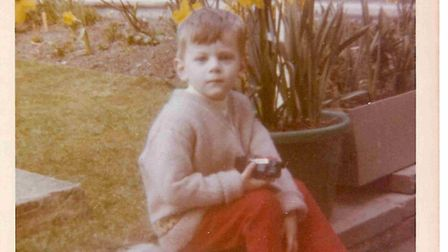 A young Mark Ward - this picture was shown to the Infected Blood Inquiry. Picture: Mark Ward