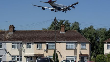 Planes land at Heathrow airport. Picture: Steve Parsons/PA