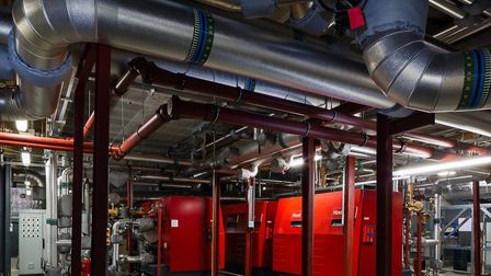 Camden Council's Somers Town Energy district heating project. Picture: Camden Council