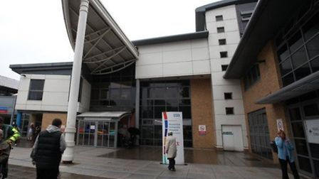 The Homerton Hospital cut its carbon footprint by almost 10 per cent in a year. Picture: Archant